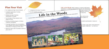 Life in the Woods Brochure