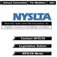 web site design for NYSLTA